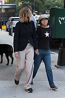www.acepixs.com<br /> <br /> November 2 2017, New York City<br /> <br /> Actress Meg Ryan and her daughter Daisy True Ryan walk in Tribeca on November 2 2017 in New York City<br /> <br /> By Line: Curtis Means/ACE Pictures<br /> <br /> <br /> ACE Pictures Inc<br /> Tel: 6467670430<br /> Email: info@acepixs.com<br /> www.acepixs.com