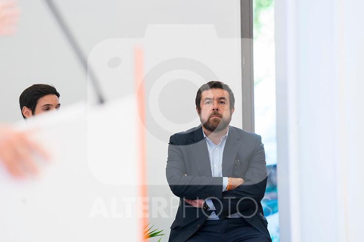 Parliamentary group secretary, Miguel Gutierrez, after Ciudadanos General Council. September 30, 2019. (ALTERPHOTOS/Francis Gonzalez)