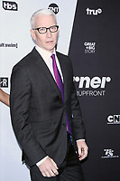 NEW YORK, NY - MAY 16: Anderson Cooper at Turner Upfront 2018 at Madison Square Garden in New York. May 16, 2018 Credit:/RW/MediaPunch