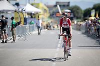 Tiesj Benoot (BEL/Lotto-Soudal) rolling in on his regular race bike<br /> <br /> Stage 13 (ITT): Pau to Pau(27km)<br /> 106th Tour de France 2019 (2.UWT)<br /> <br /> ©kramon