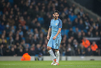 Nolito of Manchester City during the UEFA Champions League GROUP match between Manchester City and Celtic at the Etihad Stadium, Manchester, England on 6 December 2016. Photo by Andy Rowland.