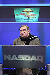 Dan Lauria  and the cast of 'A Christmas Story, The Musical'  ringing  the NASDAQ Stock Market Opening Bell at NASDAQ, Times Square in New York City on December 20, 2012