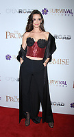 NEW YORK, NY April .18, 2017 Charlotte Le Bon attend Survival Pictures and Open Road in partnership with Ambassador Zohrab Mnatsakanyan, Permanent Representative of Armenia to the United Nations host a special screening of The Promise  at the Paris Theatre in New York April 19,  2017. <br /> CAP/MPI/RW<br /> &copy;RW/MPI/Capital Pictures