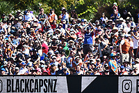 Fans during the 5th ODI Blackcaps v England. Hagley Oval, Christchurch, New Zealand. Saturday 10 March 2018. ©Copyright Photo: Chris Symes / www.photosport.nz