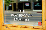 Roy Brown Museum, Carleton Place, Ontario, Canada