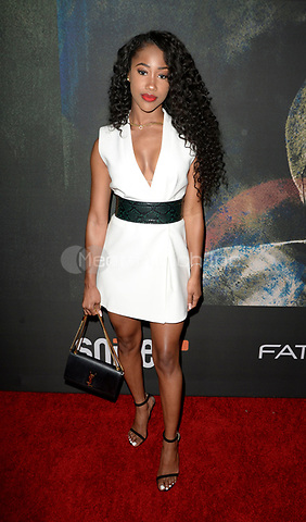 "LOS ANGELES, CA: J Mulan at the premiere of Riveting Entertainment's ""Chris Brown: Welcome to My Life"" documentary at L.A. Live in Los Angeles, California on June 6, 2017 Credit: Koi Sojer/Snap'N U Photos/MediaPunch"