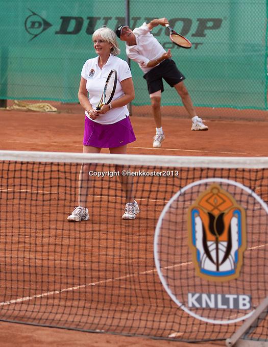 2013,{today month}{today day} Netherlands, Amstelveen,  TV de Kegel, Tennis, NVK 2013, National Veterans Tennis Champ,   <br /> Photo: Henk Koster