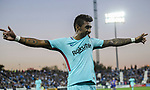 Jose Paulo Bezerra Maciel Junior, Paulinho, of FC Barcelona celebrates after scoring his goal during the La Liga 2017-18 match between CD Leganes vs FC Barcelona at Estadio Municipal Butarque on November 18 2017 in Leganes, Spain. Photo by Diego Gonzalez / Power Sport Images