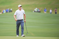 Alex Noren (SWE) reacts to missing his putt on 12 during sudden death playoff with Kevin Kisner (USA) during day 5 of the World Golf Championships, Dell Match Play, Austin Country Club, Austin, Texas. 3/25/2018.<br /> Picture: Golffile | Ken Murray<br /> <br /> <br /> All photo usage must carry mandatory copyright credit (© Golffile | Ken Murray)