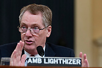 United States Trade Representative Robert Lighthizer testifies to Congress