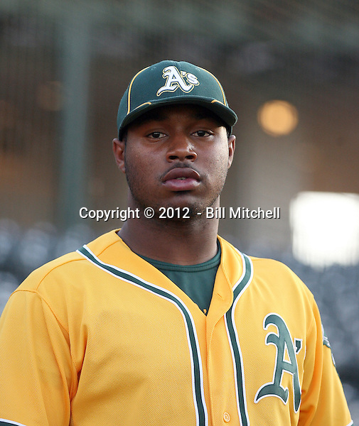 BJ Boyd - 2012 AZL Athletics (Bill Mitchell)