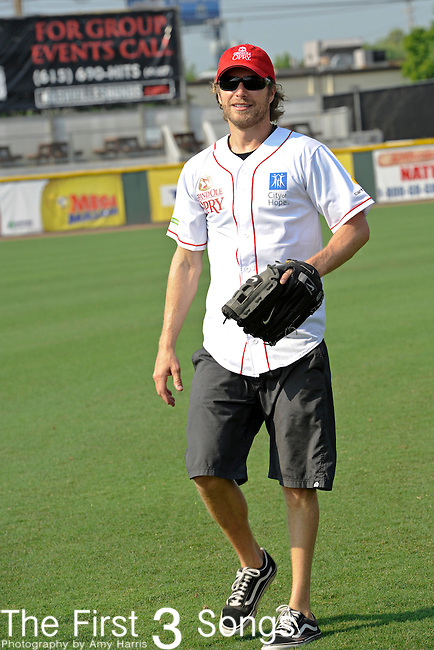 Dierks Bentley attends the 21st annual City of Hope Celebrity Softball Challenge, on Saturday, June 11, at Greer Stadium in Nashville, TN during the 2011 CMA Music Festival.