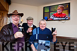 Top of the Coom pals Dan Kelliher, Joe Kelly and John McCarthy toast the red haired guy (Ed Sheerin) praising them on the Late Late show last week