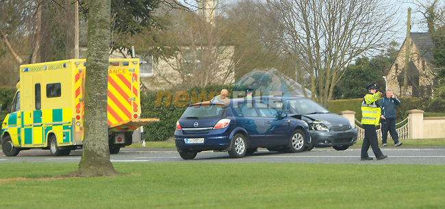 Scene of RTC ballymakenny road and Greenbatter 17/4/13.Picture: Thos Caffrey/ www.newsfile.ie.