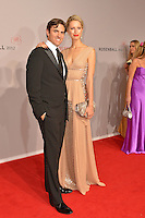 "Karolina Kourkova and Mann Archis Drury attending the ""Rosenball"" Charity Gala in favor of the ""Stiftung Deutsche Schlaganfallhilfe"" held at the Hotel Intercontinental in Berlin, Germany, 09.06.2012...Credit: Michael Wiese/face to face /MediaPunch Inc. ***FOR USA ONLY*** NORTEPHOTO.COM"