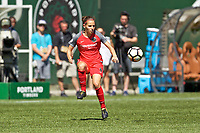 Portland, OR - Saturday September 02, 2017: Ashleigh Sykes during a regular season National Women's Soccer League (NWSL) match between the Portland Thorns FC and the Washington Spirit at Providence Park.