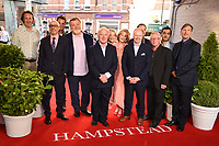 Cast and director<br /> at the &quot;Hampstead&quot; premiere, Everyman Hampstead cinema, London. <br /> <br /> <br /> &copy;Ash Knotek  D3280  14/06/2017