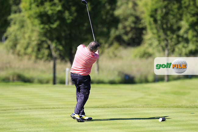 during Wednesday's Pro-Am of the 2014 Irish Open held at Fota Island Resort, Cork, Ireland. 18th June 2014.<br /> Picture: Eoin Clarke www.golffile.ie