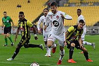 Western Sydney Wanderers FC's Brendan Hamill in action during the A-League - Wellington Phoenix v Western Sydney Wanderers at Westpac Stadium, Wellington, New Zealand on Saturday 3 November  2018. <br /> Photo by Masanori Udagawa. <br /> www.photowellington.photoshelter.com