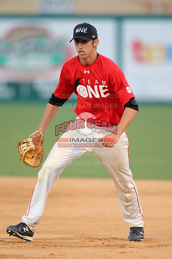 Bennett Sousa during the Team One Futures Showcase East at Roger Dean Stadium on October 1, 2011 in Jupiter, Florida.  (Mike Janes/Four Seam Images)