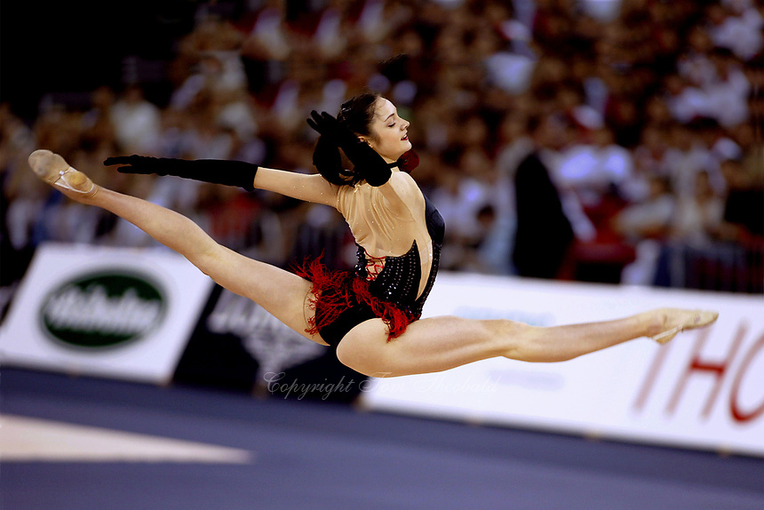 September 28, 2003; Budapest, Hungary; ANNA BESSONOVA of Ukraine performs gala at 2003 World Championships.