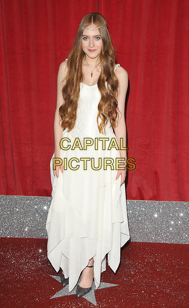 Persephone Swales-Dawson at the British Soap Awards 2017, The Lowry Theatre, Pier 8, Salford Quays, Salford, Manchester, England, UK, on Saturday 03 June 2017.<br /> CAP/CAN<br /> &copy;CAN/Capital Pictures