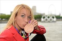 20120729 Charline Van Snick Belgio medaglia d'oro nel Judo - 48Kg
