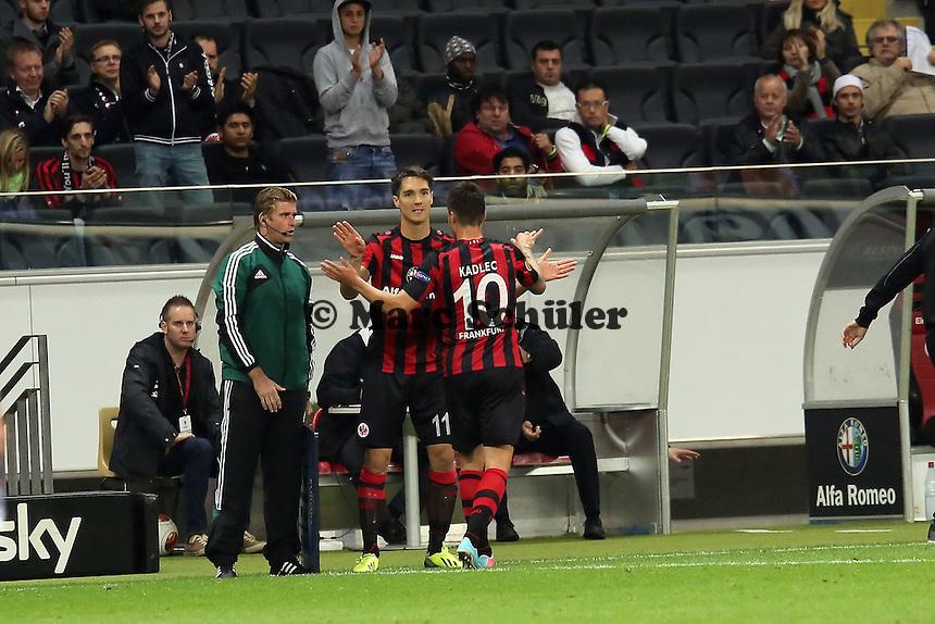 Vaclav Kadlec geht, Srdjan Lakic (Eintracht) kommt - 1. Spieltag der UEFA Europa League Eintracht Frankfurt vs. Girondins Bordeaux