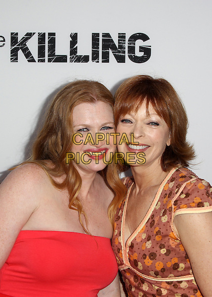 14 July 2014 - Hollywood, California - Mireille Enos, Frances Fisher. Premiere Of Netflix's &quot;The Killing&quot; Season 4 Held at The ArcLight Cinemas. <br /> CAP/ADM/FS<br /> &copy;Faye Sadou/AdMedia/Capital Pictures
