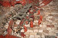 dettaglio di un presepe creato dall'artigiano del corallo Platimiro Fiorenza, recentemente iscritto dall&rsquo;UNESCO fra i Tesori Umani Viventi nel Libro dei Saperi del Registro delle Eredit&agrave; Immateriali, per la sua antica e prestigiosa tradizione artigiana.<br /> detail of one of the cribs created by Platimiro Fiorenza, artisan working coral , recently registered with the UNESCO Living Human Treasures in the Book of Knowledge of the Register of Intangible Heritage, for his ancient and prestigious tradition of craftsmanship