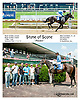 Stone of Scone winning and at Delaware Park on 7/17/13
