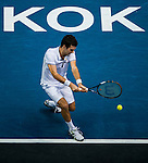 Mikhail Kukushkin of Kazakhstan in action during the Day 7 of the PTT Thailand Open at Impact Arena on October 1, 2010 in Bangkok, Thailand. Photo by Victor Fraile / The Power of Sport Images