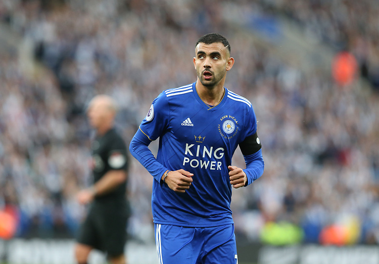 Leicester City's Rachid Ghezzal<br /> <br /> Photographer Stephen White/CameraSport<br /> <br /> The Premier League - Saturday 10th November 2018 - Leicester City v Burnley - King Power Stadium - Leicester<br /> <br /> World Copyright © 2018 CameraSport. All rights reserved. 43 Linden Ave. Countesthorpe. Leicester. England. LE8 5PG - Tel: +44 (0) 116 277 4147 - admin@camerasport.com - www.camerasport.com