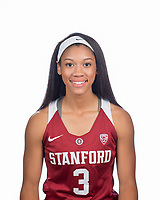 Stanford, Ca - September 20, 2017: The 2017-2018 Stanford Cardinal Women's Basketball Team
