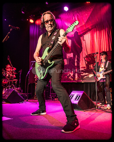 Todd Rundgren photographed at The Fillmore in San Francisco, CA January 14, 2016. Credit: Jay Blakesberg/MediaPunch
