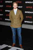 "Neil Jones<br /> arriving for the ""Bright"" European premiere at the BFI South Bank, London<br /> <br /> <br /> ©Ash Knotek  D3364  15/12/2017"