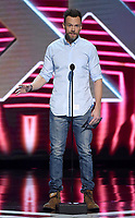 LOS ANGELES - DECEMBER 6: Presenter Joel McHale appears onstage at the 2018 Game Awards at the Microsoft Theater on December 6, 2018 in Los Angeles, California. (Photo by Frank Micelotta/PictureGroup)