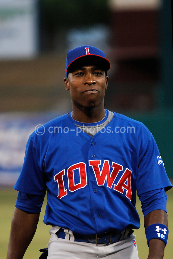 Jul 22, 2008; Tucson, AZ, USA; Chicago Cubs outfielder Alfonso Soriano walks in the outfield prior to a game between the AAA Iowa Cubs and the Tucson Sidewinders at Tucson Electric Park. Soriano would go 1 for 3 with a strikeout during the 5-4 loss to the Sidewinders.  ..