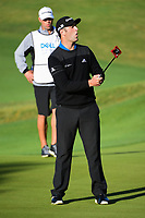 Jon Rahm (ESP) reacts to barely missing his putt on 5 during round 4 of the World Golf Championships, Dell Technologies Match Play, Austin Country Club, Austin, Texas, USA. 3/25/2017.<br /> Picture: Golffile | Ken Murray<br /> <br /> <br /> All photo usage must carry mandatory copyright credit (&copy; Golffile | Ken Murray)
