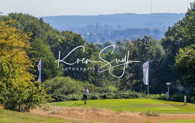 GROESBEEK  -  hole 16  Nijmeegse Baan . Duitsland op de achtergrond.  ,  Golf op Rijk van Nijmegen.   COPYRIGHT KOEN SUYK