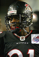 Byron Capers Ottawa Renegades 2003. Photo Scott Grant