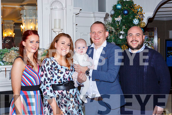 Ava Carey-O'Shea, Farranfore celebrated her christening with her parents Mag and Tommy in Killarney Avenue Hotel on Saturday and her god parents Damian Carey and Karey O'Shea