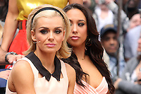 "Katherine Jenkins and Cheryl Burke from ""Dancing With the Stars"" Season 14 outside ABC's ""Good Morning America"" Times Square studio in New York, 23.05.2012..Credit: Rolf Mueller/face to face / Mediapunchinc"