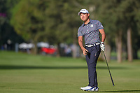 Shugo Imahira (JPN) watches his approach shot on 6 during round 2 of the World Golf Championships, Mexico, Club De Golf Chapultepec, Mexico City, Mexico. 2/22/2019.<br /> Picture: Golffile | Ken Murray<br /> <br /> <br /> All photo usage must carry mandatory copyright credit (© Golffile | Ken Murray)