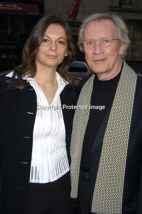 """Roy Thinnes and wife Stephanie Batailler ..at the New York Premiere of Showtimes """"Reefer Madness"""" ..on April 10, 2005 at the Directors Guild of America Theatre.Broadway Cares/Equity Fights Aids was benefitting from the Premiere. ..Photo by Robin Platzer, Twin Images"""