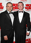 Joe DiPietro and Derek McCracken.attending the Broadway Opening Night After Party for  'Nice Work If You Can Get It' at the Mariott Marquis  on 4/24/2012 in New York City.