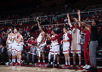 Stanford, Ca - November 6, 2018: Stanford men's basketball defeated Seattle  96-74 at Maples Pavilion.