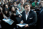 """The actor Rusell Crowe with the fans during the spanish premier of the film 'Man of Steel"""" (El hombre de acero).June 17,2013.(ALTERPHOTOS/Acero)"""