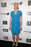 LOS ANGELES, CA - APRIL 15: Pollyanna McIntosh at AMC&rsquo;s &ldquo;Survival Sunday: The Walking Dead &amp; Fear the Walking Dead LA Fan Event at AMC Century City 15 in Los Angeles, California on April 15, 2018. <br /> CAP/MPIFS<br /> &copy;MPIFS/Capital Pictures