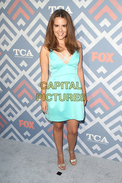 08 August 2017 - West Hollywood, California - Guests. 2017 FOX Summer TCA Party held at SoHo House. <br /> CAP/ADM/FS<br /> &copy;FS/ADM/Capital Pictures